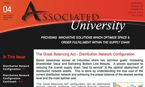 Associated University, Thought Leadership, Supply Chain