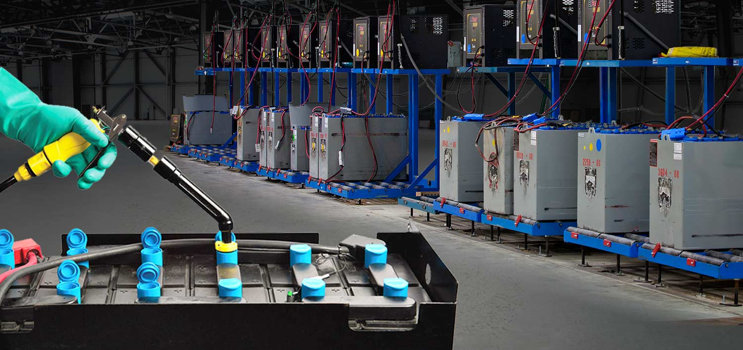 Power Solutions - Lift Truck Batteries, Chargers, and Service Programs