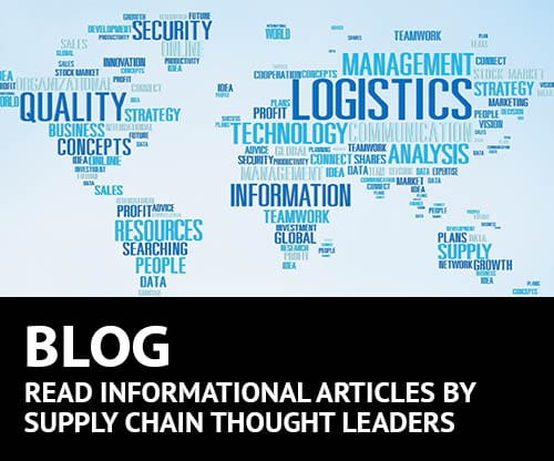 BLOG, SUPPLY CHAIN, MATERIAL HANDLING, THOUGHT LEADER