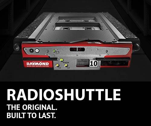 RadioSHUTTLE, MATERIAL HANDLING