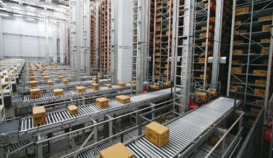 Products, Automation, Case Conveyor, ASRS, Automated Storage, Retrieval System