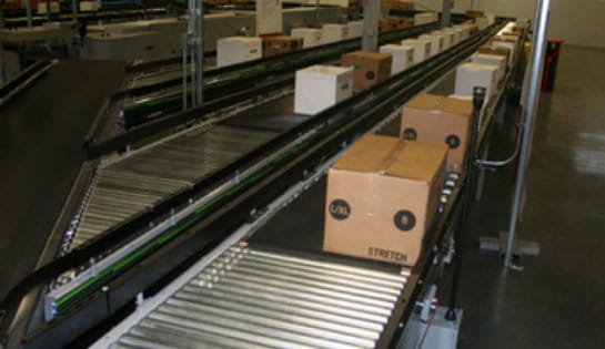 Products, Automation, Case Conveyor