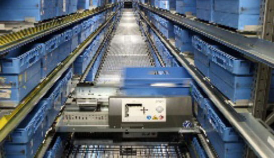Products, Automation, Case Conveyor, Shuttles