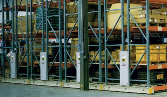 Products, Automation, Pallet Handling, Mobile Aisle