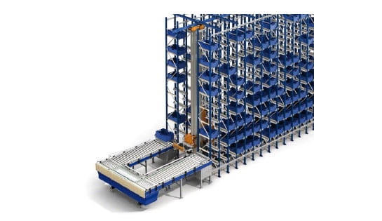 Products, Storage and Structures, Carton and Tote Storage, Mini Load