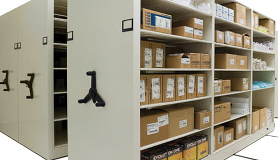 Products, Storage and Structures, Pieces and Parts Storage, Mobile Shelving