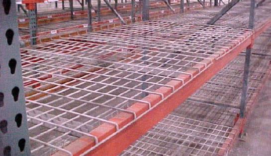Products, Storage and Structures, Carton and Tote Storage, Wire Deck