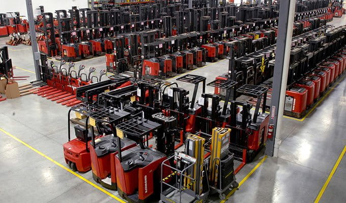 Raymond Forklift Rentals