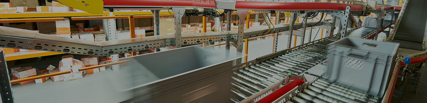conveyor sorting system, automated conveyor, warehouse conveyor