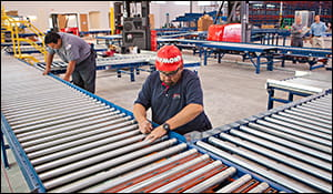 conveyor maintenance, warehouse maintenance