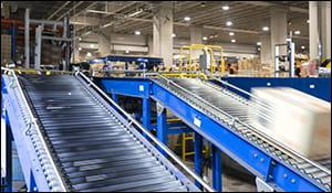 bastian conveyors, zipline conveyor