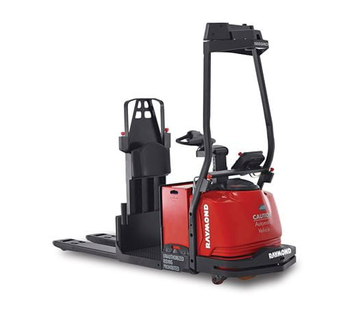 automated pallet truck, raymond courier, 3010
