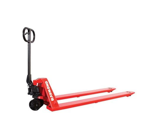 Raymond LCS55 Hydraulic Hand Pallet Jack for Unique Sized Application Needs