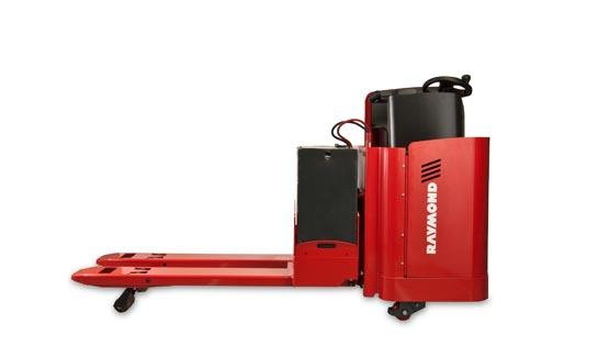Raymond 8900 Riding Pallet Truck Cold storage conditioning option
