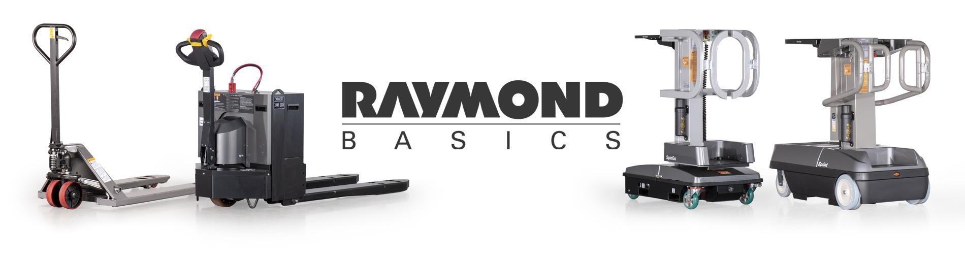 raymond basics, warehouse essentials
