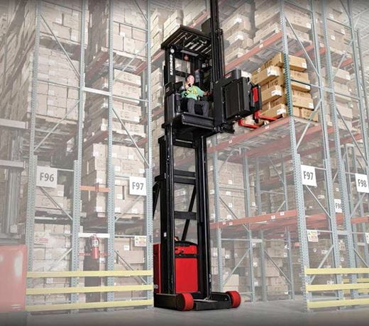 Raymond 9000 Series Swing Reach Truck Reach Turret Mechanism