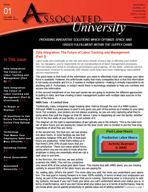 Associated University Newsletter