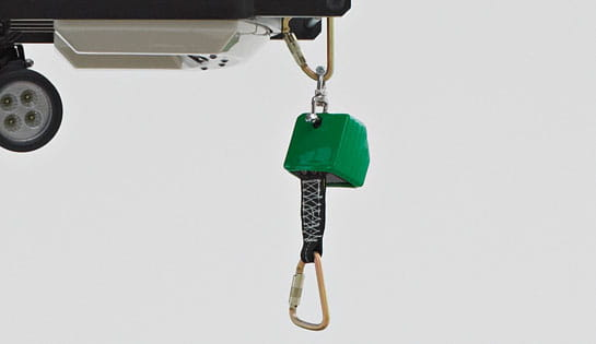 Raymond 5200 Orderpicker Truck Tether Options